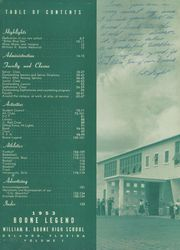Page 6, 1953 Edition, Boone High School - Boone Legend Yearbook (Orlando, FL) online yearbook collection