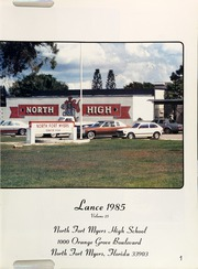 Page 5, 1985 Edition, North Fort Myers High School - Lance Yearbook (North Fort Myers, FL) online yearbook collection