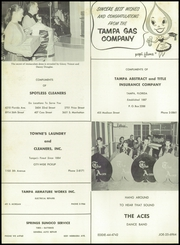 Page 164, 1958 Edition, Chamberlain High School - Totem Yearbook (Tampa, FL) online yearbook collection