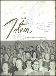 Page 7, 1958 Edition, Chamberlain High School - Totem Yearbook (Tampa, FL) online yearbook collection