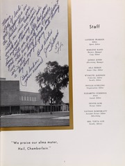 Page 11, 1959 Edition, Chamberlain High School - Totem Yearbook (Tampa, FL) online yearbook collection