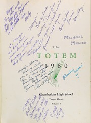 Page 5, 1960 Edition, Chamberlain High School - Totem Yearbook (Tampa, FL) online yearbook collection