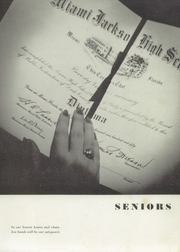 Page 11, 1954 Edition, Miami Jackson High School - Old Hickory Yearbook (Miami, FL) online yearbook collection