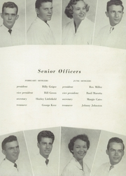 Page 15, 1954 Edition, Miami Jackson High School - Old Hickory Yearbook (Miami, FL) online yearbook collection