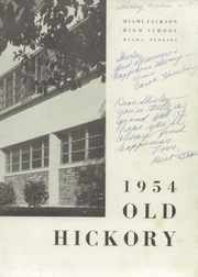 Page 7, 1954 Edition, Miami Jackson High School - Old Hickory Yearbook (Miami, FL) online yearbook collection
