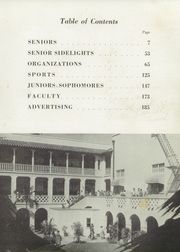 Page 9, 1954 Edition, Miami Jackson High School - Old Hickory Yearbook (Miami, FL) online yearbook collection