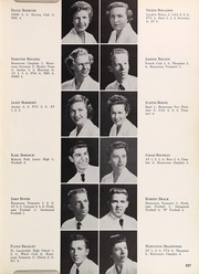 Page 207, 1956 Edition, Coral Gables High School - Cavaleon Yearbook (Coral Gables, FL) online yearbook collection