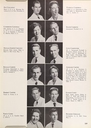 Page 209, 1956 Edition, Coral Gables High School - Cavaleon Yearbook (Coral Gables, FL) online yearbook collection