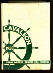 Page 1, 1958 Edition, Coral Gables High School - Cavaleon Yearbook (Coral Gables, FL) online yearbook collection