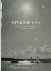 Page 5, 1958 Edition, Coral Gables High School - Cavaleon Yearbook (Coral Gables, FL) online yearbook collection