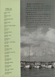 Page 6, 1958 Edition, Coral Gables High School - Cavaleon Yearbook (Coral Gables, FL) online yearbook collection