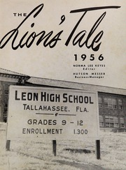 Page 5, 1956 Edition, Leon High School - Lions Tale Yearbook (Tallahassee, FL) online yearbook collection
