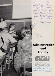 Page 13, 1957 Edition, Leon High School - Lions Tale Yearbook (Tallahassee, FL) online yearbook collection