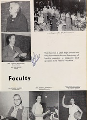 Page 15, 1957 Edition, Leon High School - Lions Tale Yearbook (Tallahassee, FL) online yearbook collection