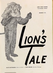 Page 5, 1957 Edition, Leon High School - Lions Tale Yearbook (Tallahassee, FL) online yearbook collection