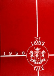 Page 1, 1958 Edition, Leon High School - Lions Tale Yearbook (Tallahassee, FL) online yearbook collection
