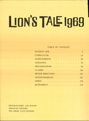 Page 6, 1969 Edition, Leon High School - Lions Tale Yearbook (Tallahassee, FL) online yearbook collection