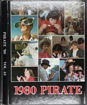 1980 Edition, Pasco High School - Pirate Yearbook (Dade City, FL)