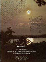 Page 5, 1977 Edition, Wolfson High School - Rhombus Yearbook (Jacksonville, FL) online yearbook collection