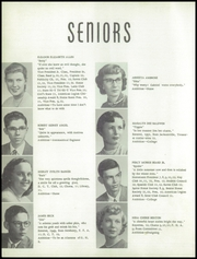 Page 12, 1954 Edition, Gainesville High School - Hurricane Yearbook (Gainesville, FL) online yearbook collection
