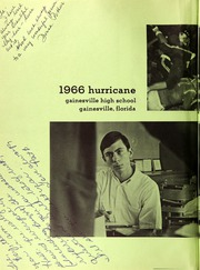 Page 6, 1966 Edition, Gainesville High School - Hurricane Yearbook (Gainesville, FL) online yearbook collection