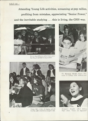Page 10, 1968 Edition, Gainesville High School - Hurricane Yearbook (Gainesville, FL) online yearbook collection