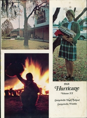 Page 5, 1968 Edition, Gainesville High School - Hurricane Yearbook (Gainesville, FL) online yearbook collection