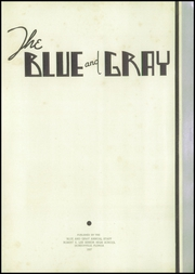 Page 7, 1937 Edition, Lee High School - Blue and Gray Yearbook (Jacksonville, FL) online yearbook collection