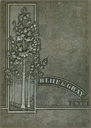 Page 1, 1938 Edition, Lee High School - Blue and Gray Yearbook (Jacksonville, FL) online yearbook collection