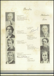 Page 16, 1938 Edition, Lee High School - Blue and Gray Yearbook (Jacksonville, FL) online yearbook collection