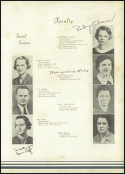 Page 17, 1938 Edition, Lee High School - Blue and Gray Yearbook (Jacksonville, FL) online yearbook collection