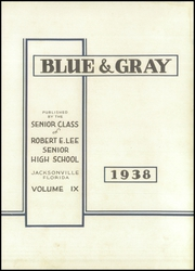 Page 7, 1938 Edition, Lee High School - Blue and Gray Yearbook (Jacksonville, FL) online yearbook collection