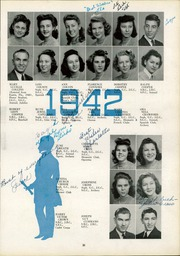 Page 37, 1942 Edition, Lee High School - Blue and Gray Yearbook (Jacksonville, FL) online yearbook collection
