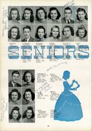Page 40, 1942 Edition, Lee High School - Blue and Gray Yearbook (Jacksonville, FL) online yearbook collection