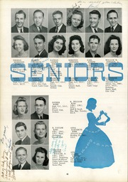 Page 42, 1942 Edition, Lee High School - Blue and Gray Yearbook (Jacksonville, FL) online yearbook collection