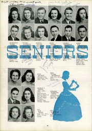Page 48, 1942 Edition, Lee High School - Blue and Gray Yearbook (Jacksonville, FL) online yearbook collection