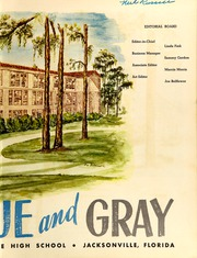 Page 5, 1950 Edition, Lee High School - Blue and Gray Yearbook (Jacksonville, FL) online yearbook collection