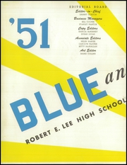 Page 6, 1951 Edition, Lee High School - Blue and Gray Yearbook (Jacksonville, FL) online yearbook collection