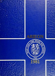 Page 1, 1981 Edition, Miami Coral Park High School - Arieon Yearbook (Miami, FL) online yearbook collection