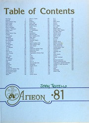 Page 3, 1981 Edition, Miami Coral Park High School - Arieon Yearbook (Miami, FL) online yearbook collection