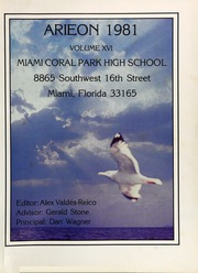 Page 5, 1981 Edition, Miami Coral Park High School - Arieon Yearbook (Miami, FL) online yearbook collection