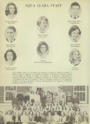 Page 14, 1950 Edition, Clearwater High School - Aqua Clara Yearbook (Clearwater, FL) online yearbook collection