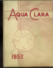 1952 Edition, Clearwater High School - Aqua Clara Yearbook (Clearwater, FL)