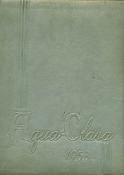 1953 Edition, Clearwater High School - Aqua Clara Yearbook (Clearwater, FL)