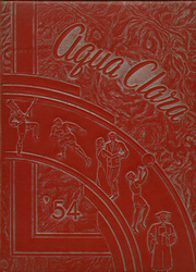 1954 Edition, Clearwater High School - Aqua Clara Yearbook (Clearwater, FL)