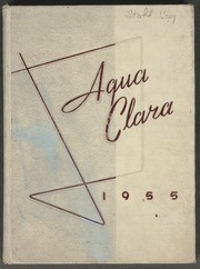 1955 Edition, Clearwater High School - Aqua Clara Yearbook (Clearwater, FL)