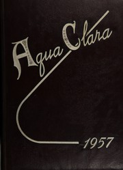 1957 Edition, Clearwater High School - Aqua Clara Yearbook (Clearwater, FL)