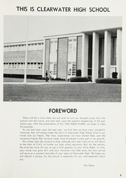 Page 9, 1960 Edition, Clearwater High School - Aqua Clara Yearbook (Clearwater, FL) online yearbook collection