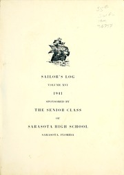 Page 5, 1941 Edition, Sarasota High School - Sailors Log Yearbook (Sarasota, FL) online yearbook collection