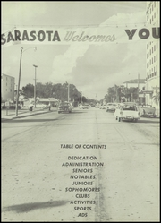 Page 5, 1957 Edition, Sarasota High School - Sailors Log Yearbook (Sarasota, FL) online yearbook collection